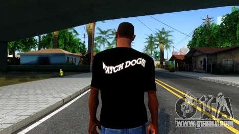 T-Shirt Watch Dogs 2 for GTA San Andreas third screenshot