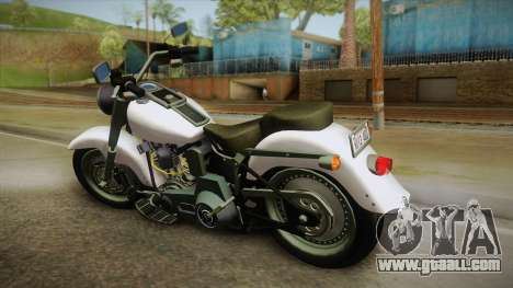 Harley-Davidson FLSTF 1990 v1.1 for GTA San Andreas left view