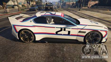 BMW 3.0 CSL Hommage R Concept for GTA 5