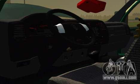 Gazelle Farmer v2 for GTA San Andreas inner view