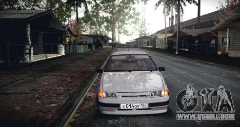 ВАЗ 2114 SamaraStance for GTA San Andreas back left view