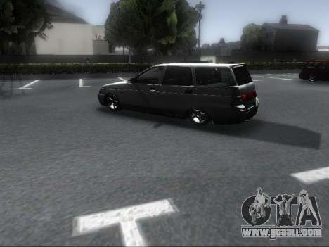 VAZ 2111 Audio for GTA San Andreas back left view