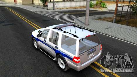 Ford Expedition SAST CVE 2008 for GTA San Andreas back left view