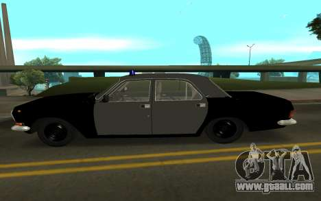 GAZ 24-10 Sheriff for GTA San Andreas left view