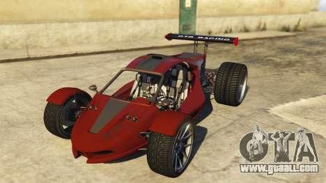 Raptor Car v2 for GTA 5