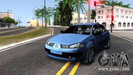 Renault Megane Sedan for GTA San Andreas right view