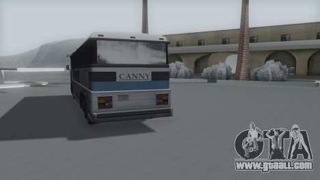 Bus Winter IVF for GTA San Andreas back left view