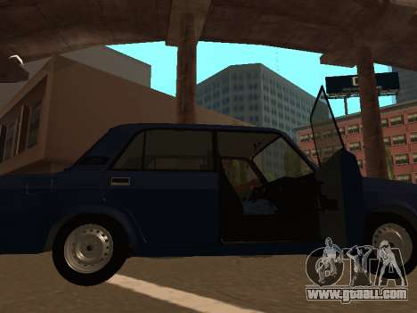 2107 (a Project of the jig Against All) for GTA San Andreas left view