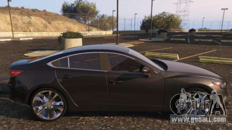 GTA 5 Mazda 6 2016 left side view