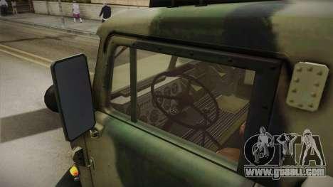 BM-27 Uragan (9P140) for GTA San Andreas back view