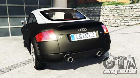 GTA 5 Audi TT (8N) 2004 v1.1 [replace] rear left side view