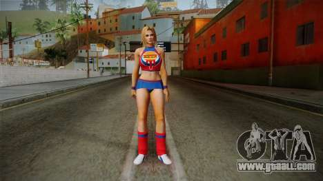 Tina Armstrong (Burger Shot) for GTA San Andreas