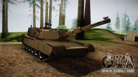 Abrams Tank for GTA San Andreas right view