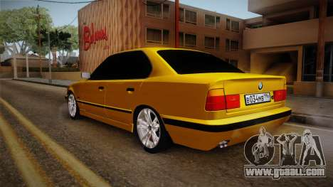 BMW 5-er E34 for GTA San Andreas left view