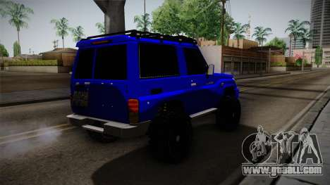 Toyota Macho 2015 Off Road for GTA San Andreas