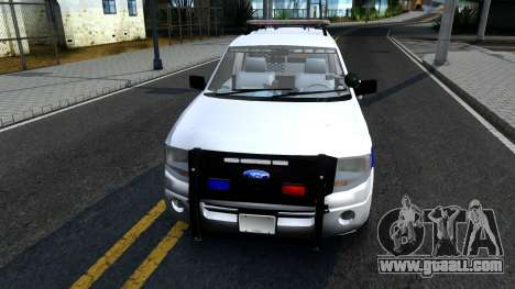 Ford Expedition SAST CVE 2008 for GTA San Andreas left view