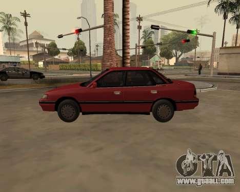 Subaru Legacy 1992 for GTA San Andreas left view