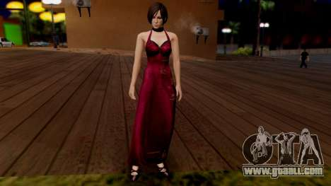 Resident Evil 6 - Ada Dress for GTA San Andreas