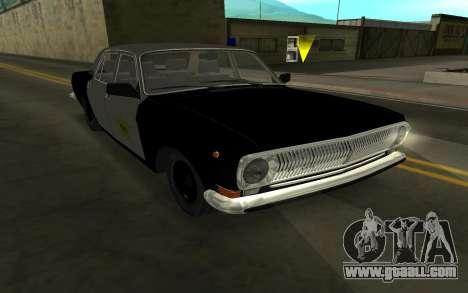 GAZ 24-10 Sheriff for GTA San Andreas