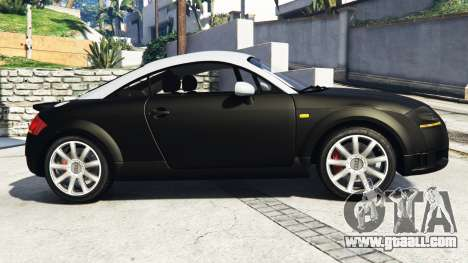 GTA 5 Audi TT (8N) 2004 v1.1 [replace] left side view