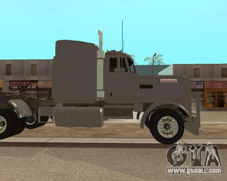 Dude Road Train for GTA San Andreas left view