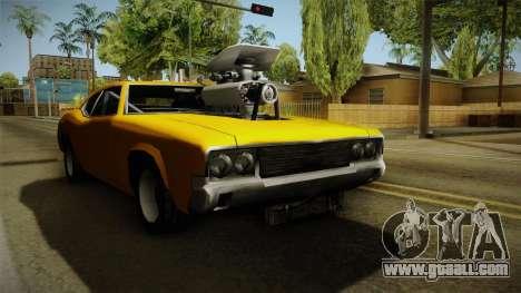 Sabre Drag for GTA San Andreas