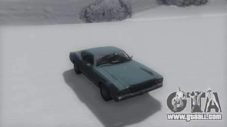 Sabre Winter IVF for GTA San Andreas