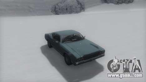 Sabre Winter IVF for GTA San Andreas