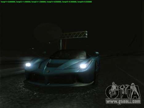 LaFerrari 2017 for GTA San Andreas upper view