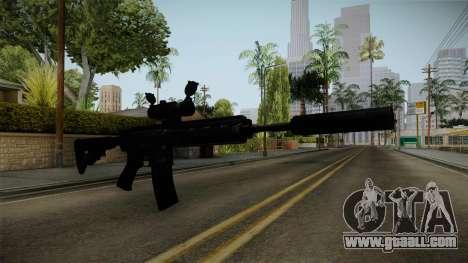 HK416 v4 for GTA San Andreas second screenshot