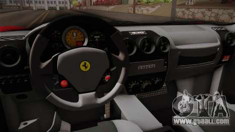 Ferrari F430 for GTA San Andreas inner view