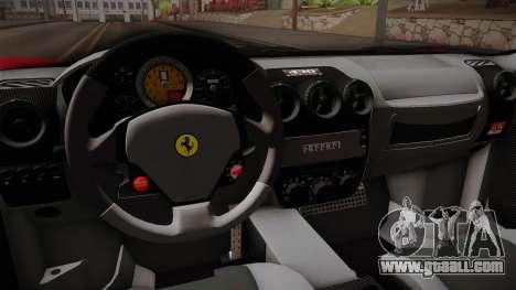 Ferrari F430 for GTA San Andreas inner view