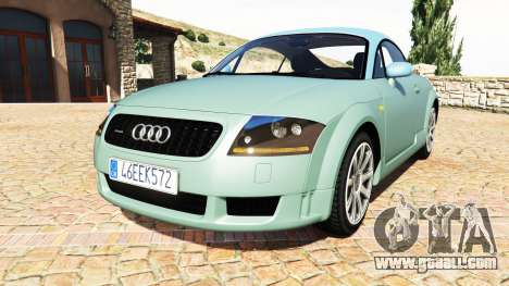 Audi TT (8N) 2004 v1.1 [add-on] for GTA 5