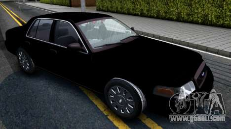 Ford Crown Victoria OHSP Unmarked 2010 for GTA San Andreas right view