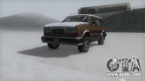 Landstalker Winter IVF for GTA San Andreas right view