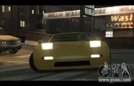 ZR 350 GTA San Andreas v1.0 for GTA 4 right view