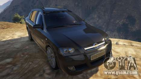 GTA 5 Chevrolet Astra GSI 2.0 16V back view