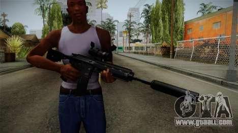 HK416 v4 for GTA San Andreas