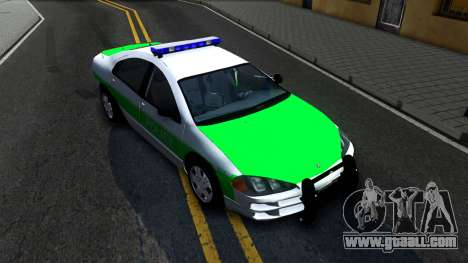 Dodge Intrepid German Police 2003 for GTA San Andreas right view