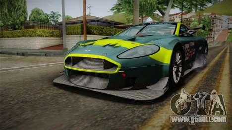 Aston Martin Racing DBRS9 GT3 2006 v1.0.6 for GTA San Andreas interior