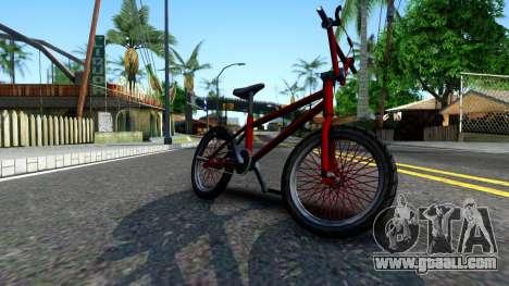 BMX Enhance for GTA San Andreas left view