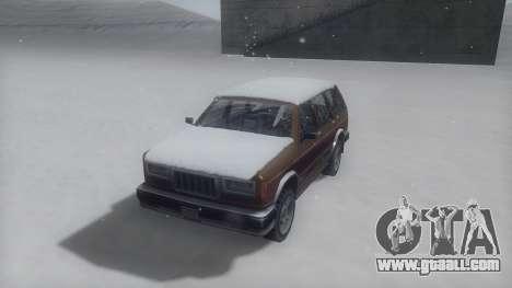Landstalker Winter IVF for GTA San Andreas