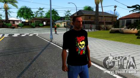 Bullet For My Valentine T-shirt for GTA San Andreas second screenshot