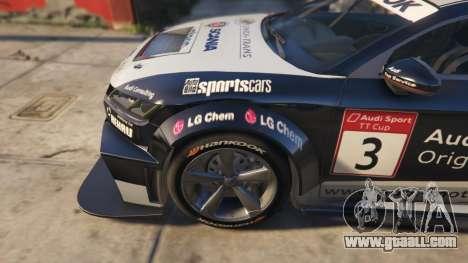 GTA 5 Audi TT cup 2015 rear right side view