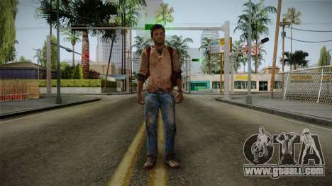 Uncharted Golden Abyss - Nathan Drake for GTA San Andreas second screenshot