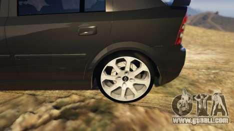 GTA 5 Chevrolet Astra GSI 2.0 16V rear right side view