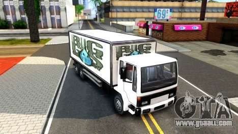 DFT-30 Box Truck for GTA San Andreas left view