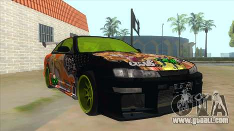 Azuki Azusa Itasha Nissan Silvia Vinyl for GTA San Andreas