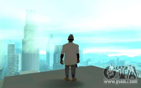 Grove Street Gang Member 2 for GTA San Andreas