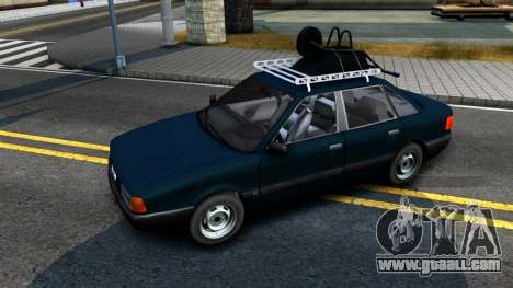 Audi 80 B3 for GTA San Andreas back left view
